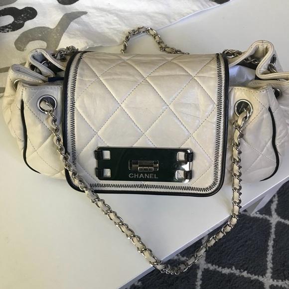556e4381aff6 CHANEL Bags | East West Accordion Flap Shoulder Bag | Poshmark